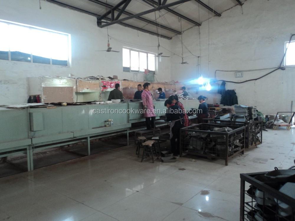 Enamel Cor Peralatan Masak Besi Dapur Set