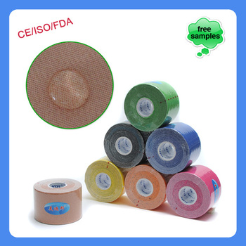 Athletes Pre-cut Muscle Colorful Sport Tape
