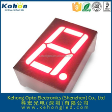 "Color red size 1.2"" inches 1 digit large 7 segment display for LED Video xxx"