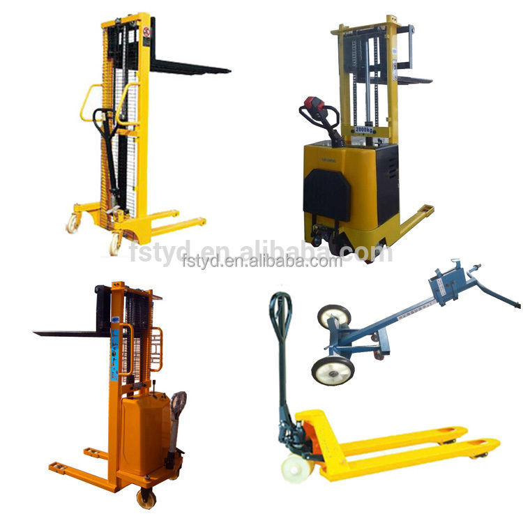 Equipment lifter pallet manual electric forklift price Motorized forklift