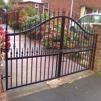 wrought iron modern house iron garden gate design for metal gates buy garden gates for sale. Black Bedroom Furniture Sets. Home Design Ideas