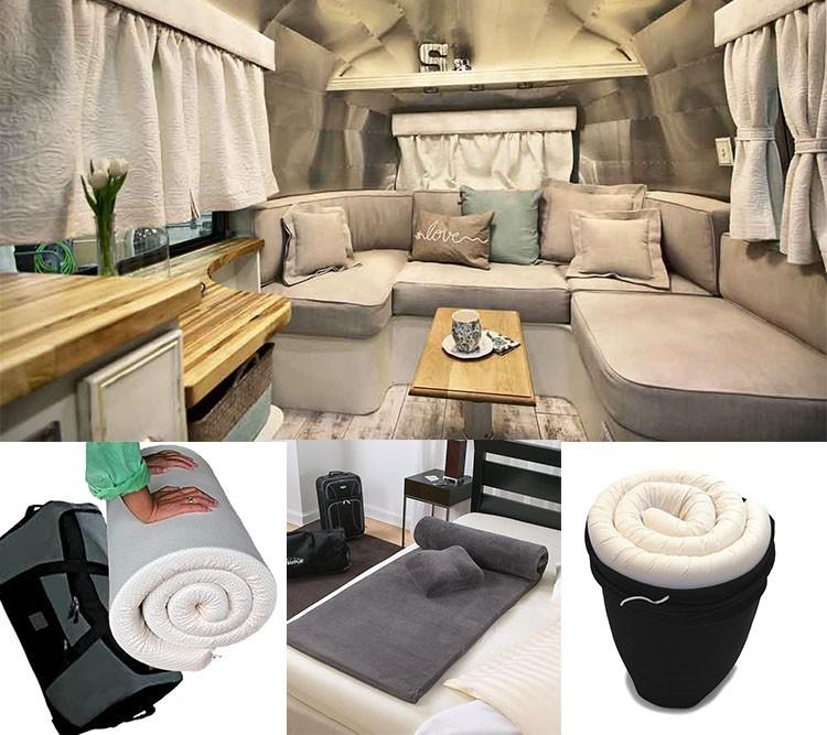 haute densit mousse adulte voyage matelas avec mousse alv ol e matelas id de produit. Black Bedroom Furniture Sets. Home Design Ideas