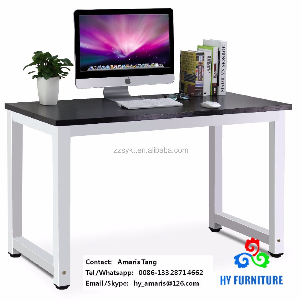 Top Ing Wooden Home Office Computer Pc Desk Laptop Study Table Workstation