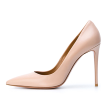 2018 spring trendy style lady pointed toe heel dress shoes women high heel shoes fashion lady shoe