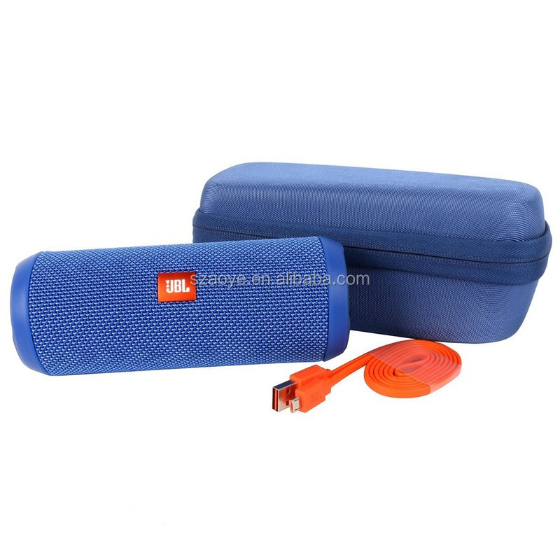 Hardshell EVA Storage Carrying Travel Case Bag for JBL Flip 1 / 2 / 3 Wireless Bluetooth Speaker (Blue)
