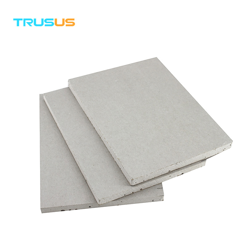 Trusus Brand Raw Material Flexible Gypsum Board/plasterboard Designed For  Curved /drywall False Ceiling - Buy Raw Material Gypsum