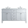 Homedee Factory double sink used bathroom vanity cabinet
