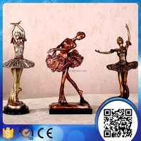 wholesale customized polyresin home and garden decor figure sculpture