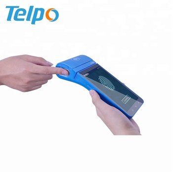4G Mobile Handheld Smart POS Terminal PDAs with Printer NFC