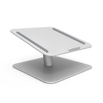 Laptop Notebook Stand Riser 360 Rotating Desktop Holder Compatible with Apple MacBook, Air, Pro, Dell XPS, HP, Samsung, Lenovo