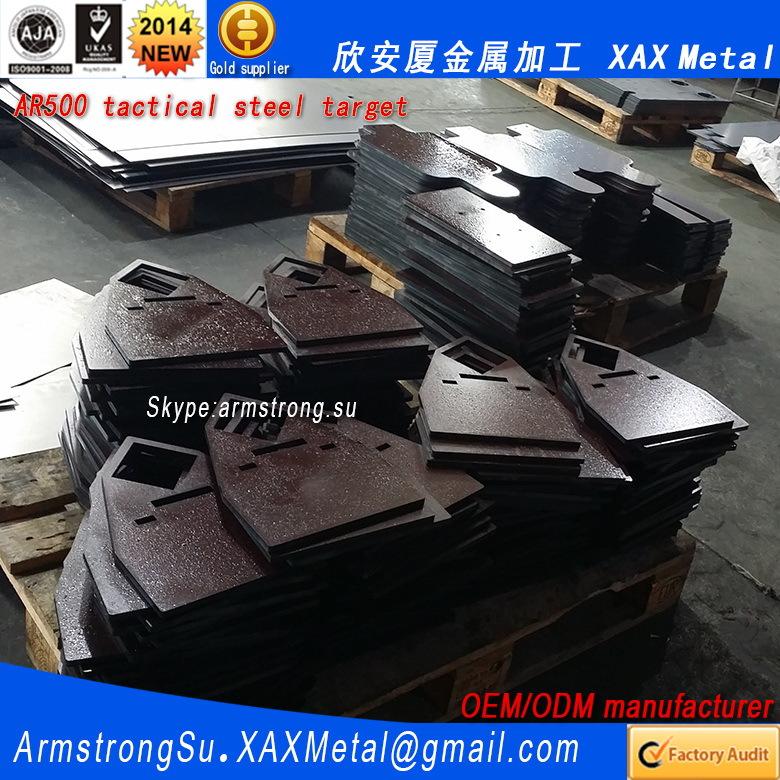 "AR500 steel gong  3//8/"" X 10/"" Shooting Target  TGARD015"