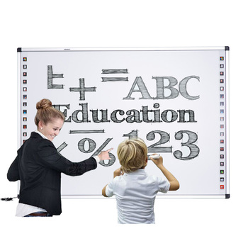 82 Inch Portable USB Smart Board Interactive Whiteboard With All In One