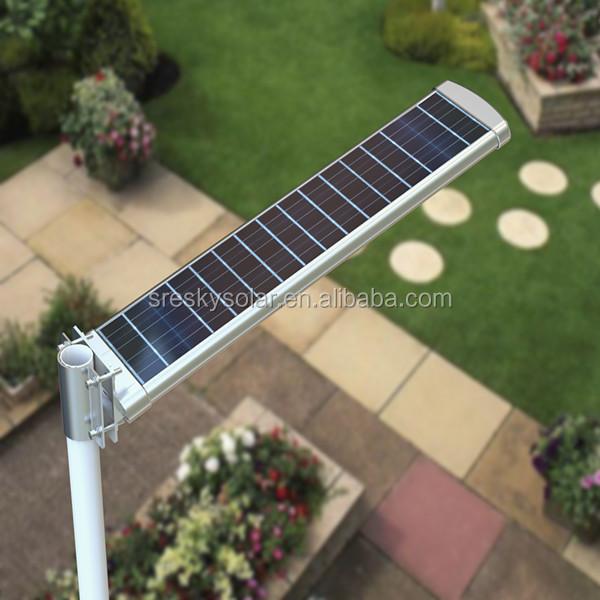 L mpara de pie led outdoor solar para jard n luces de - Lampara de jardin solar ...