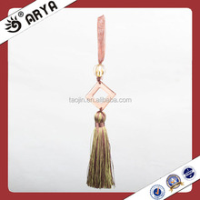 Wholesale Colored Ribbon Mini Tassel for Curtain Keychain