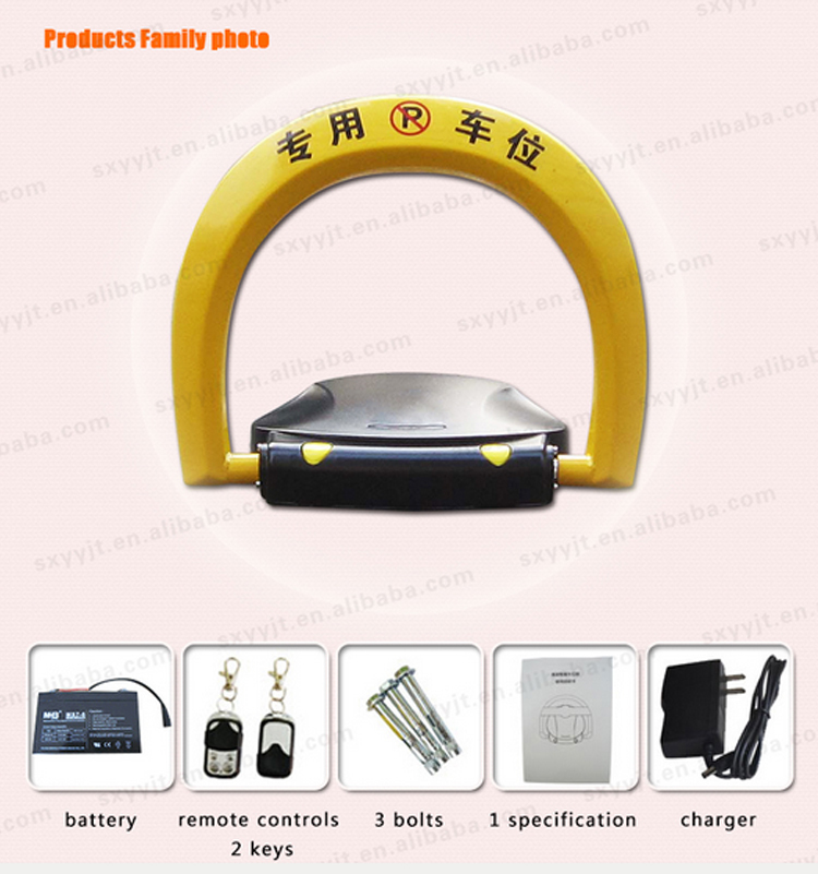 Automatic Alarm Led Flash Lights Intelligent Auto Parking Lot ...