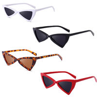 Small Cat Eye Triangle Sunglasses Classic Style Vintage Women Fashion New Sunglass AD1841