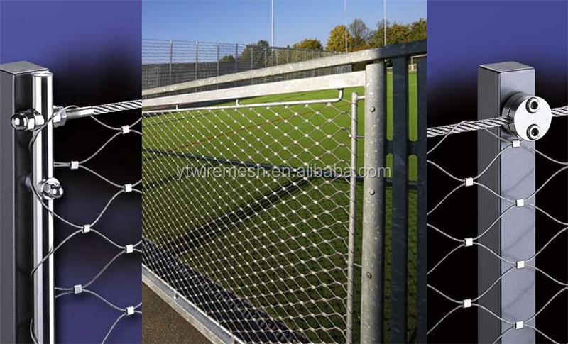 7x7 304 Woven Stainless Wire Rope Cargo Net,Cable Mesh