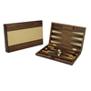Natural Wooden Backgammon Board Game Set Custom