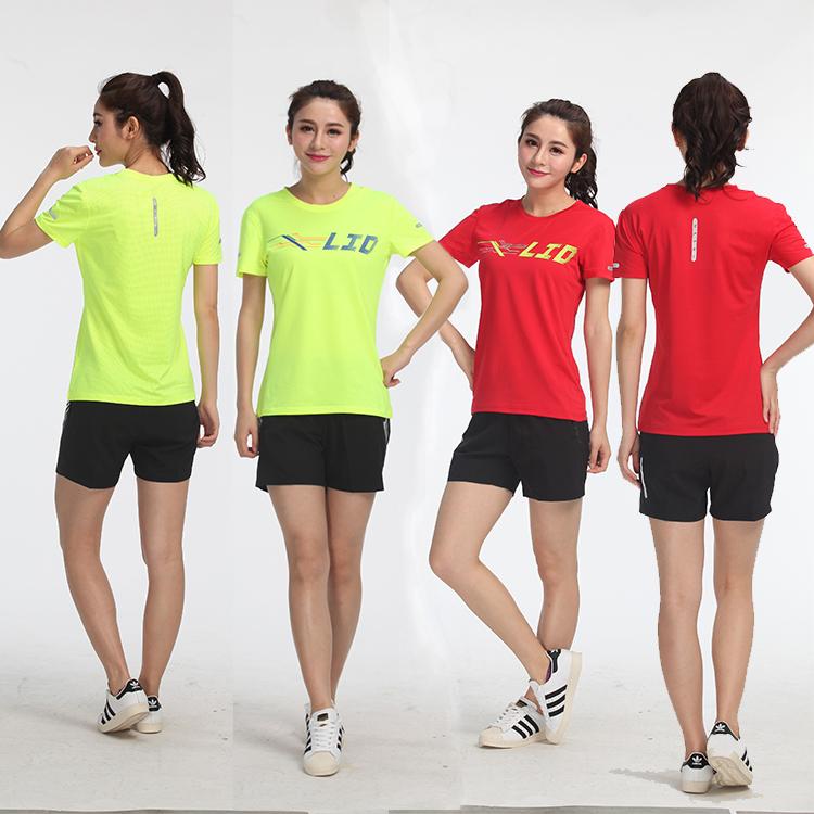 Tốt nhất Trung Quốc nữ t-shirt bán buôn Chất Lượng Cao Trống Ladies crew Cổ T Áo Sơ Mi Cho Phụ Nữ Giản Dị