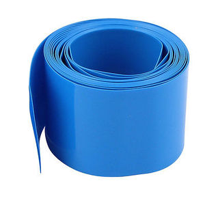 Cheap Heat Shrinkable Tube 25mm Blue PVC Heat Shrink Tubing Insulation Cable Sleeve