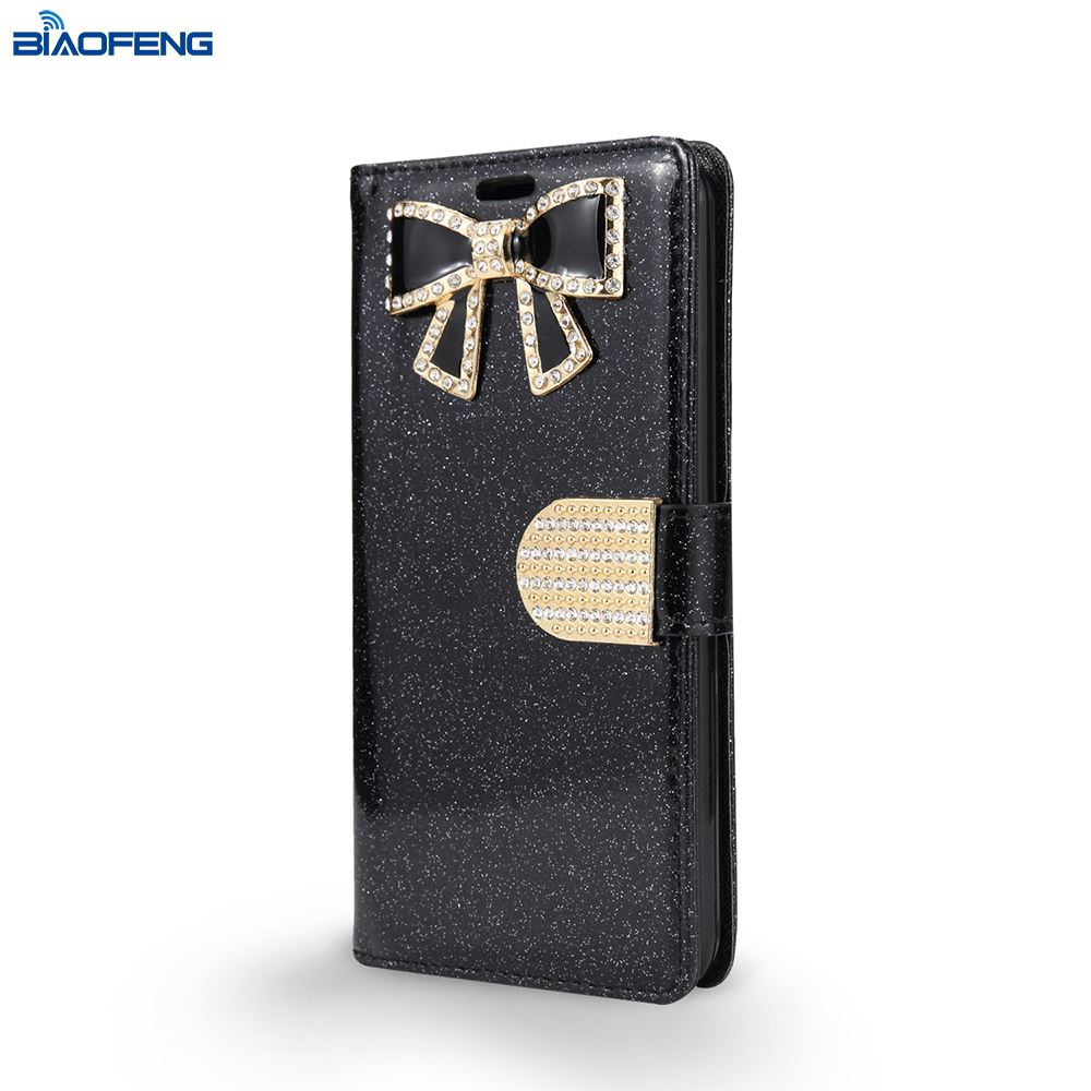 2018 Smartphone Wallet Cover Tpu Pu Mobile Cases Leather Cell Phone Case With Credit Card Holder For Lg V30