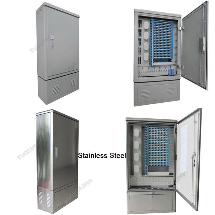 Rack Mount Floor Mounted Fiber Optic Patch Panel Cabinet