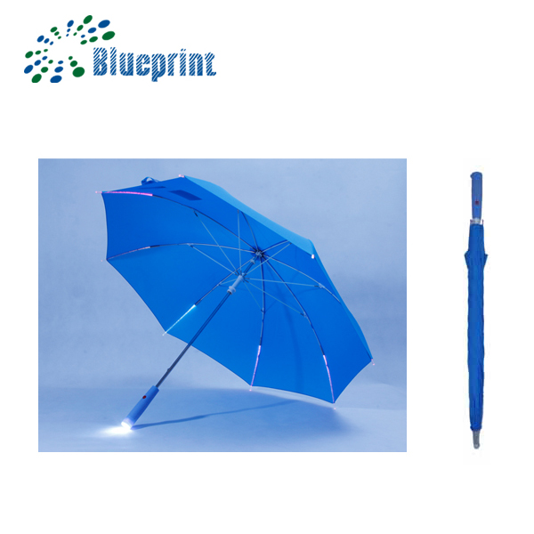 Safety led kids umbrella with custom light for girls in night