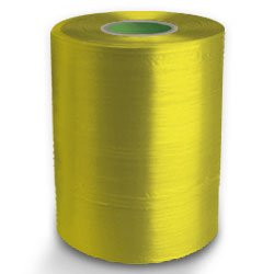 Twine - PP Film Tape Twine - Yellow - 8430', Size: D-17, 19 lbs Tensile, 2# tube (20 Tubes) - CWC-046110