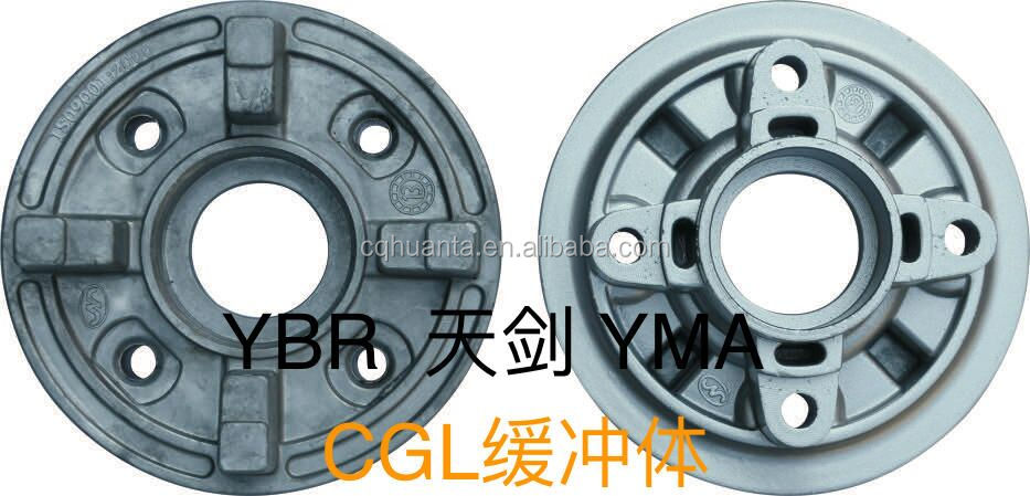 Hot Sale factory price Motorcycle Spare Parts for YMA YBR CGL Sprocket hubb comp