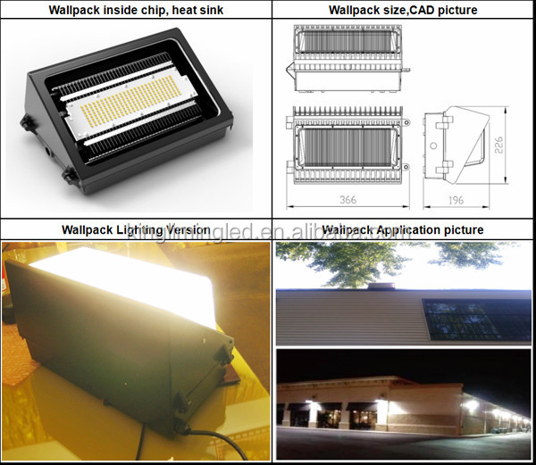 Ul Dlc Led Wallpack 30w,Dlc Ul Led Wallpack 60w,Ul Dlc Led ...