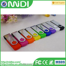 Shenzhen Supply Promotional Gifts Swivel Bulk 1GB USB Flash Drives 4Gb sub pendrive