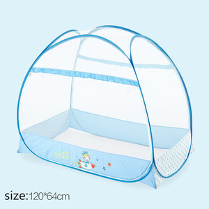 Baby Bed Mosquito Net Mongolia Yurt General Baby Mosquito Net Cover Folding and Portable Baby Playpen Mosquito Netting Tent