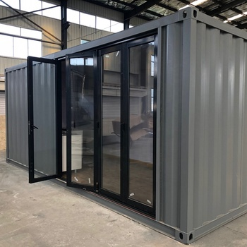 China Cheap Price  Prefab modular Sandwich Panel Material Fabricated steel standard luxury container homes design
