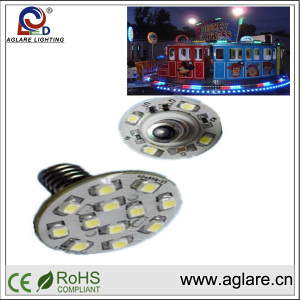 Good quality good price China factory rgb program lighting LED e14 led turbo fair light