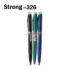 meeting used led pen mini laser light torch flashlight with writing function