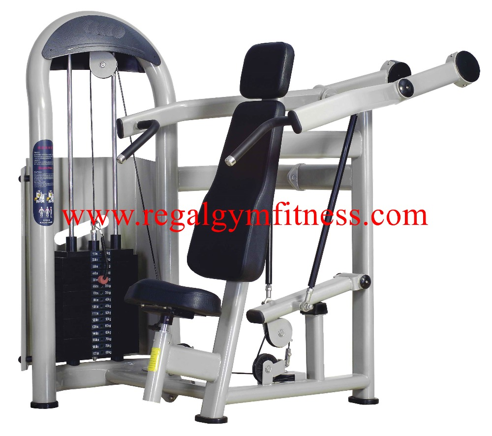 Gym Equipment Vendors: مصنعي المعدات التجارية الكتف الصحافة المهنية الجمنازيوم