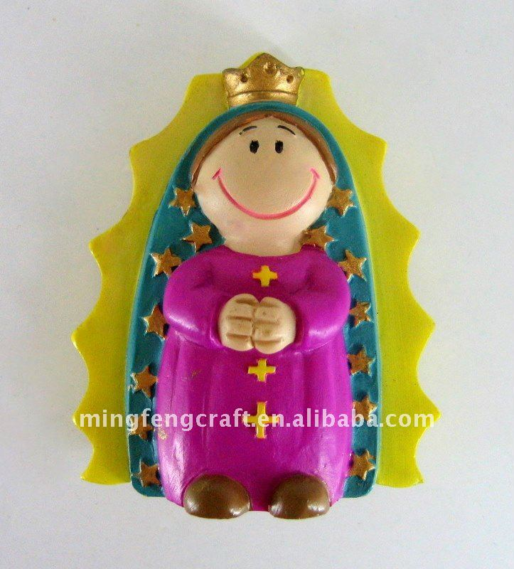 Polyresin People Fridge Magnet For House Decoration