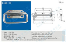 Folding door hinge with handle,china tool box handles