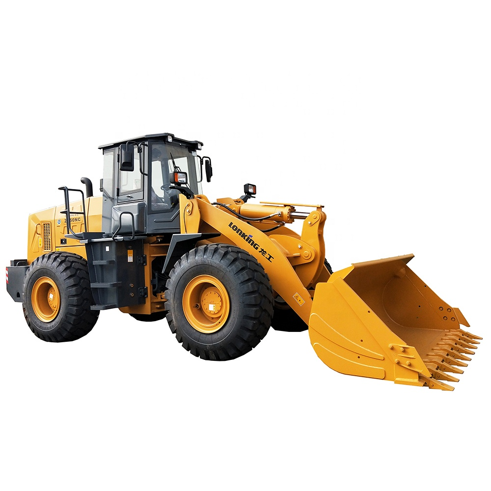 Hot sale Lonking 162 kw 17200 kg 3 m3 5 ton wheel loader ZL50NC