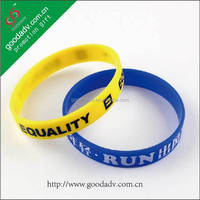 Fast Delivery Promotional Make Your Own Silicone Wristbands