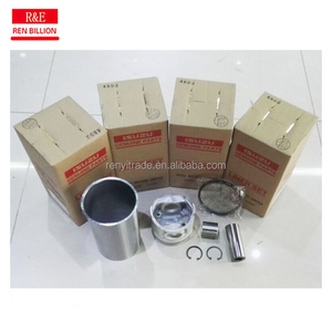 Hot sale motor engine ISUZU auto parts 4BD2T rebuild piston liner kits