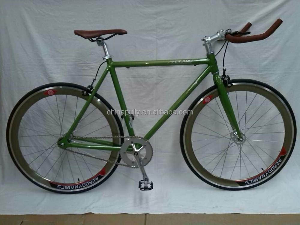 700c Bullhorn Handlebar Single Speed Bicycle Fixie Bike Road Bike