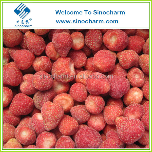 IQF Frozen Strawberries Bulk Strawberry Export