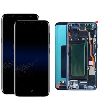 Super AMOLED original replacement touch Screen For Samsung galaxy NOTE4 4 NOTE 5 NOTE 8 NOTE 9 LCD Display with frame