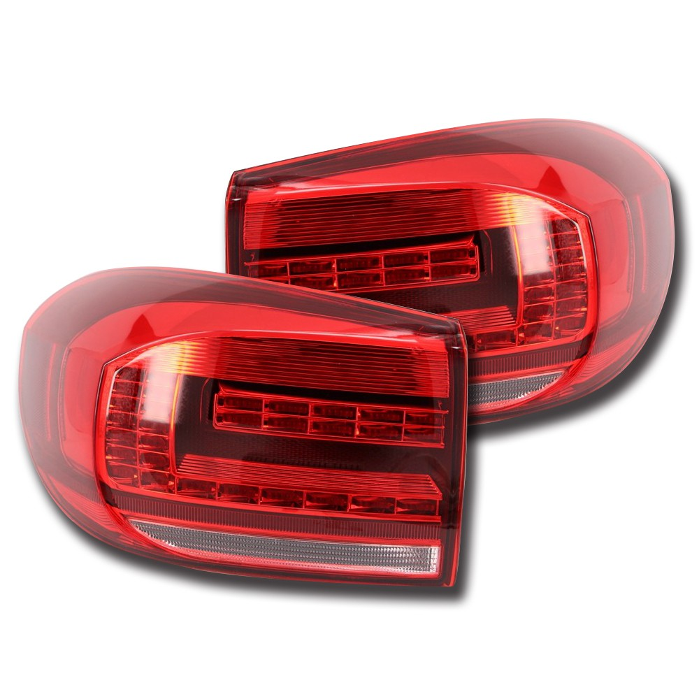 NightEye Car Styling for VW Tiguan Tail Lights 2013-2015 Volks Wagen New Tiguan Best Car Led Bulbs