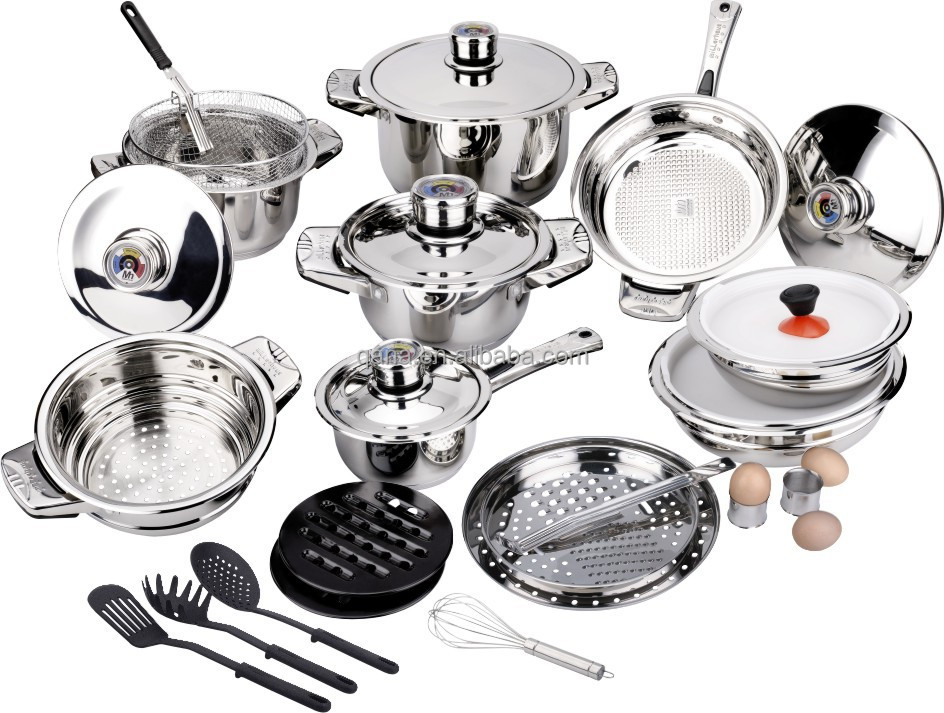 20 Pcs Cookware Set Stainless Steel Real Kitchen Cookware Buy 20
