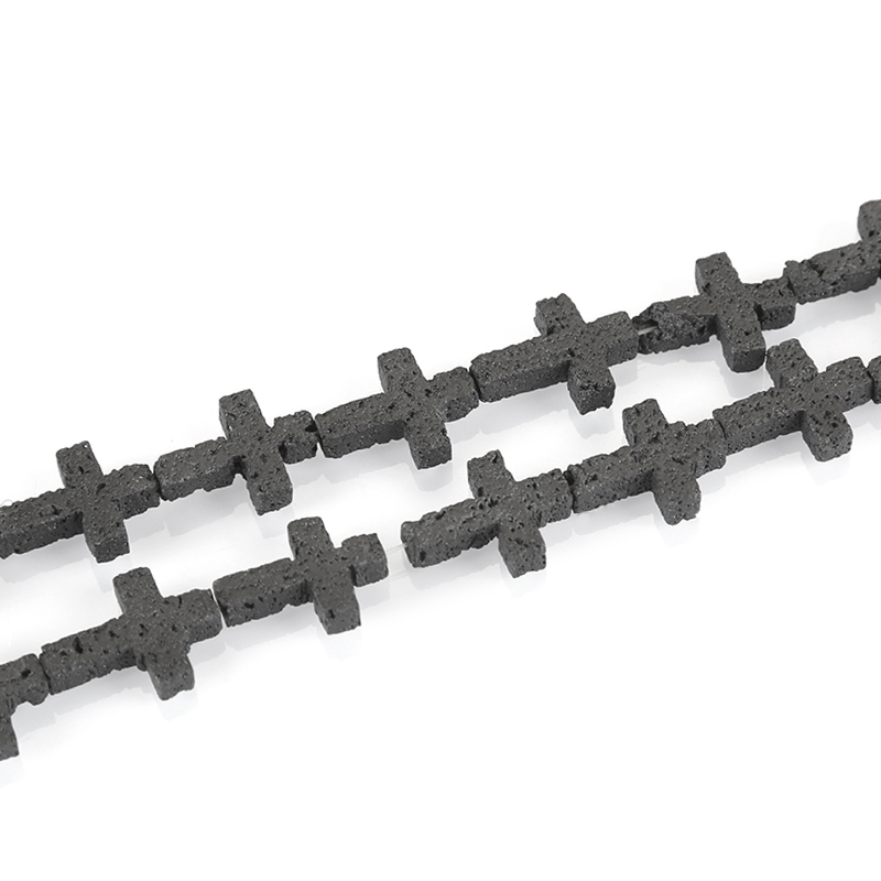 Black Loose Lava Stone Essential Oil Rock Volcanic Lava Beads DIY Accessories Pendant Handmade Jewelry Making