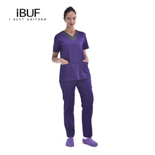 Medische scrubs laboratoriumjas india groothandel kleding <span class=keywords><strong>cherokee</strong></span> uniformes
