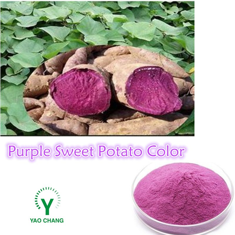 Natural Food Color Purple Sweet Potato Color Anthocyanin For ...