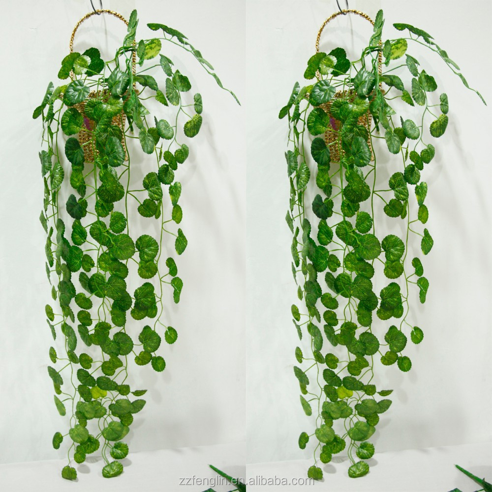 hot sale wall hanging plant vine cheap begonia leaves artificial fake ivy vine for sale